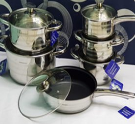 12 pc stainless